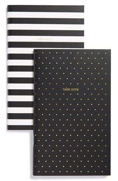 sugar paper 'Take Note' Notebooks (Set of 2) available at #Nordstrom