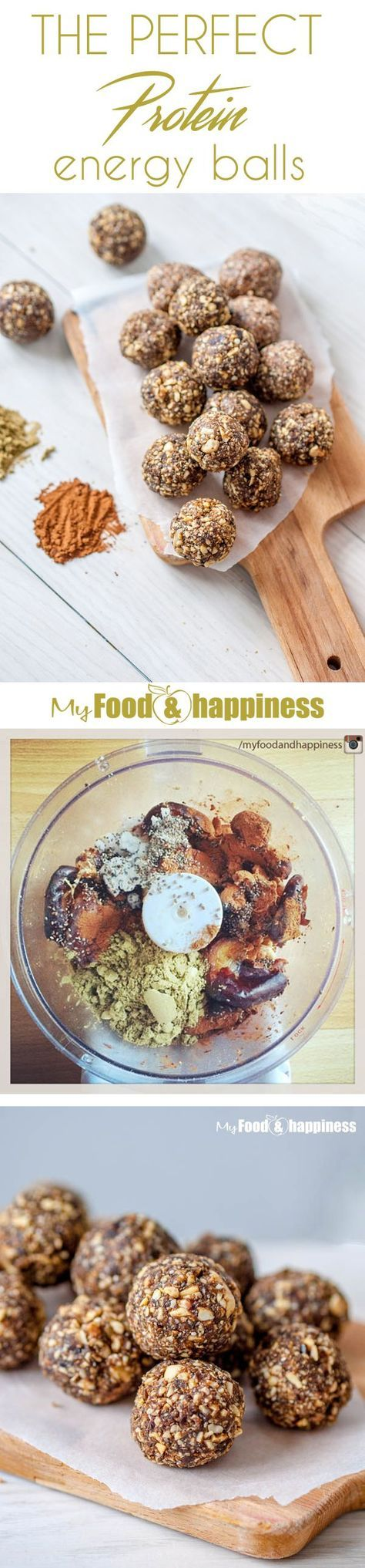 These amazing, simple protein balls are super easy to make – all you need is 5 ingredients, 5 minutes and a food processor! They are vegan, full of protein and other super nutritious ingredients. The best thing about these energy bites is that they can be stored in the fridge for at least 10 days with no problems!