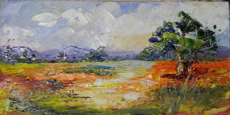 oil on canvas by Brunhilde du Toit