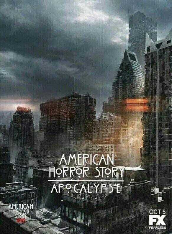 Ahs American Horror Story Season 8 Apocalypse Poster Ahs Americanhorrorstory Sarahpauls American Horror Story American Horror American Horror Story Seasons