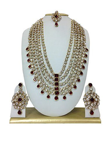 Indian Bollywood Style Gold Plated Kundan Cz Specail Karv... https://www.amazon.ca/dp/B01LYXA7RI/ref=cm_sw_r_pi_dp_x_XA6WybNAFGSQW