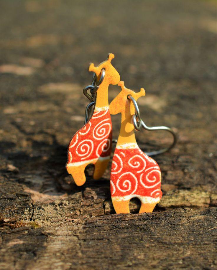 Cute Giraffe Earrings