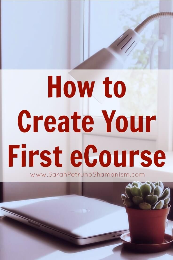 How To Create Your First ECourse That Sells - Step by step - I share it all. Programs to use, how to use them, and what to do to create an eCourse that will benefit both you and your audience.