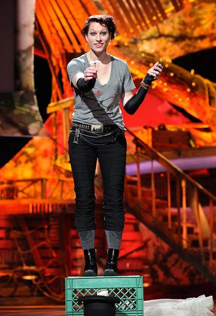 The Amanda Palmer Story, via Flickr. Taken at her TED talk.