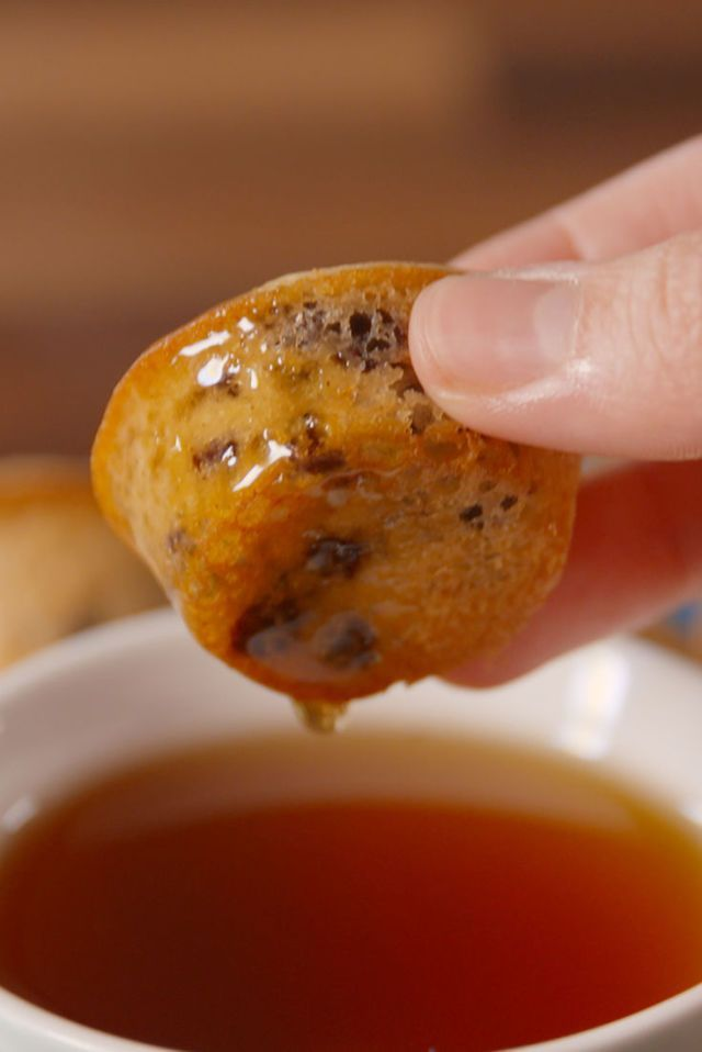 Pancake Poppers  - Delish.com