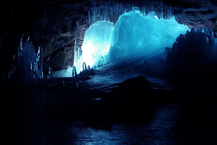 Lofthellir, a 3500 year old lava cave, is a world of ice and darkness, located in the northeastern part of Iceland near Lake Myvatn. It is about 370 metres long. You can choose whether you want to start the tour from Akureyri or the Lake Myvatn area.