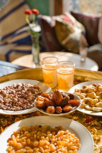 Thé et dattes Maroc !