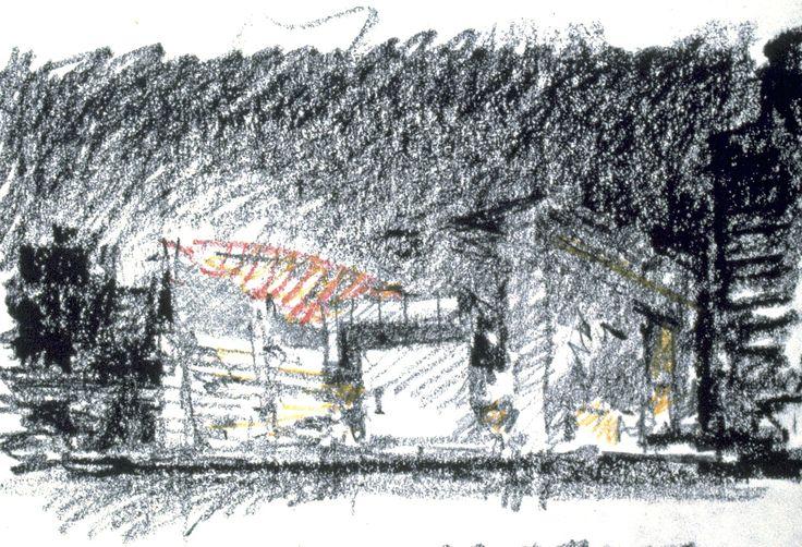 Tokyo International Forum | Rafael Viñoly Architects | Rafael Viñoly Sketch