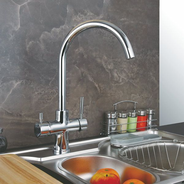 Solid Brass Kitchen Faucet With Drinking Water Function RO T3004