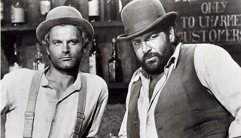 I still like their movies. And Terence Hill was the first actor I ever had a crush on. (Hey, I was 7 years old!)
