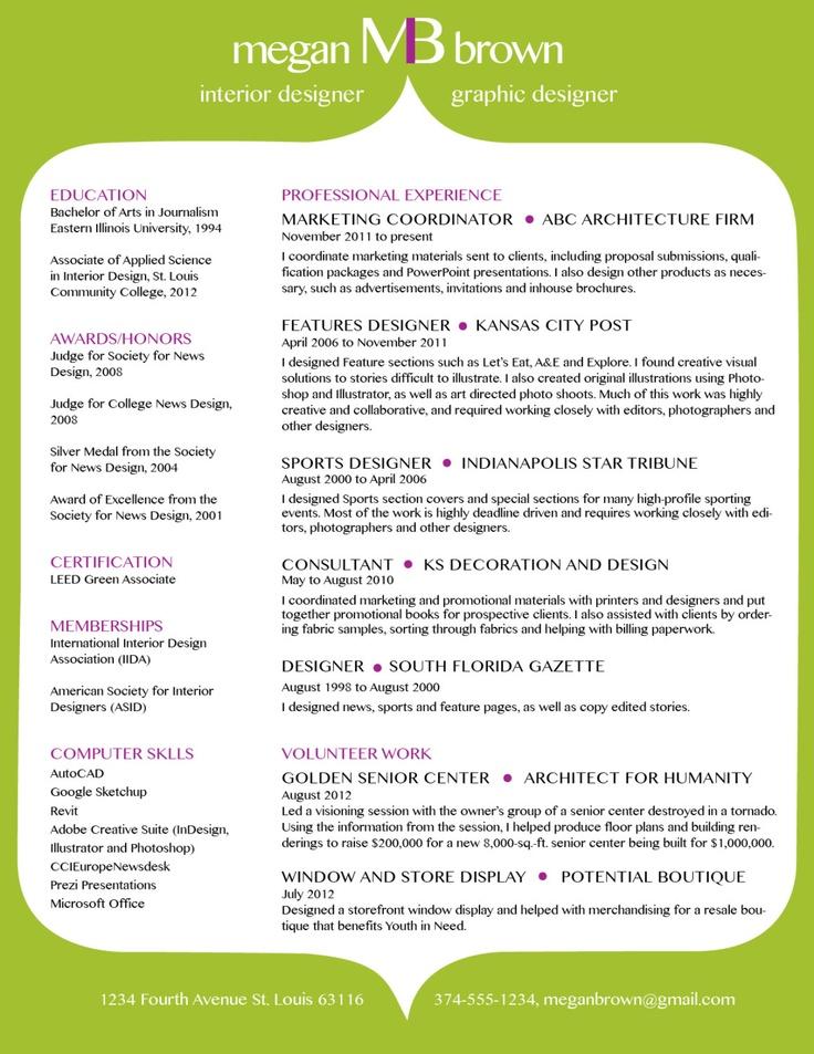 Custom Resume Template - Color Background. $35.00, Via Etsy