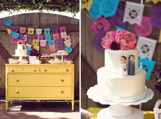 In honor of the approaching Cinco de Mayo, I thought today would be the perfect Wedding Wednesday to direct your attention to one of my ...