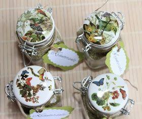 Rezept   Zutaten  5 EL getrocknete Kräuter - ich habe allerdings 2 - 3 Hände voll frische Kräuter genommen  3 frische Knoblau...