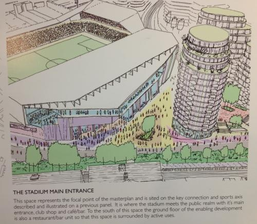 Another plan of the new Stadium for Brentford FC