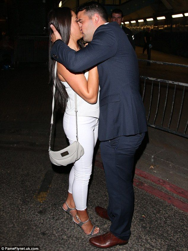 Marnie Simpson Looks Awkward As Ricky Rayment Packs On The