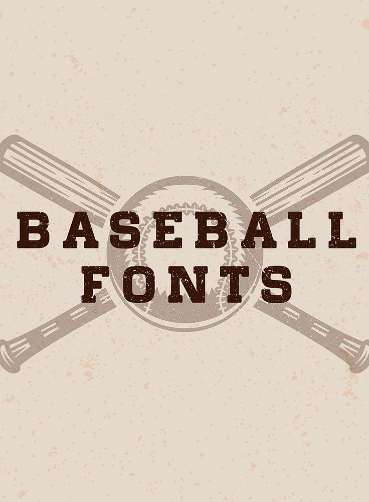 Hit A Homerun With These Cool Baseball Fonts Baseball Font Baseball Fonts Free Homerun