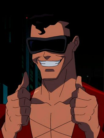 Plastic Man is a superhero and member of the Justice League