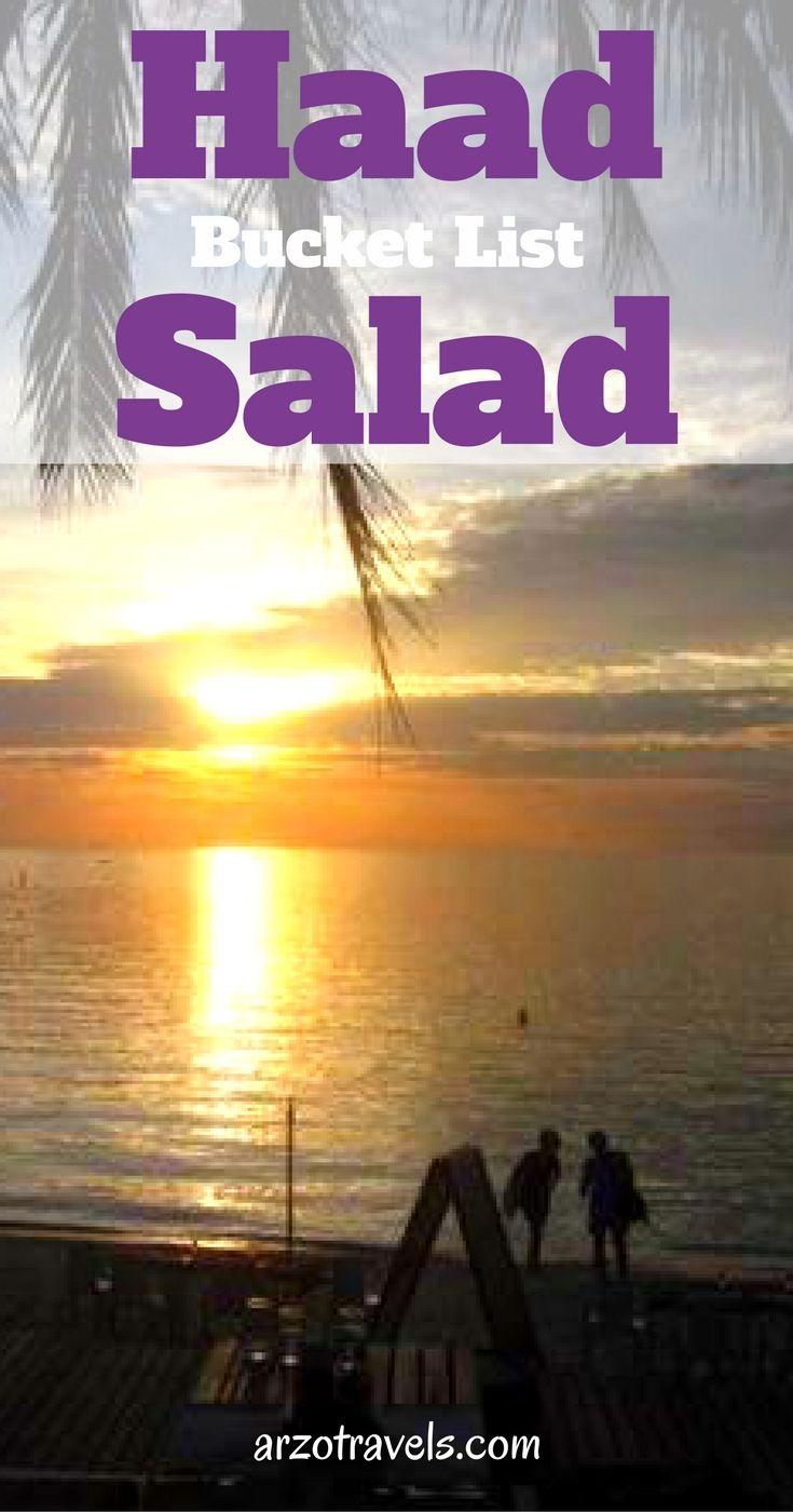 Thailand. Bucket list destination Haad Salad, Thailand. Asia,