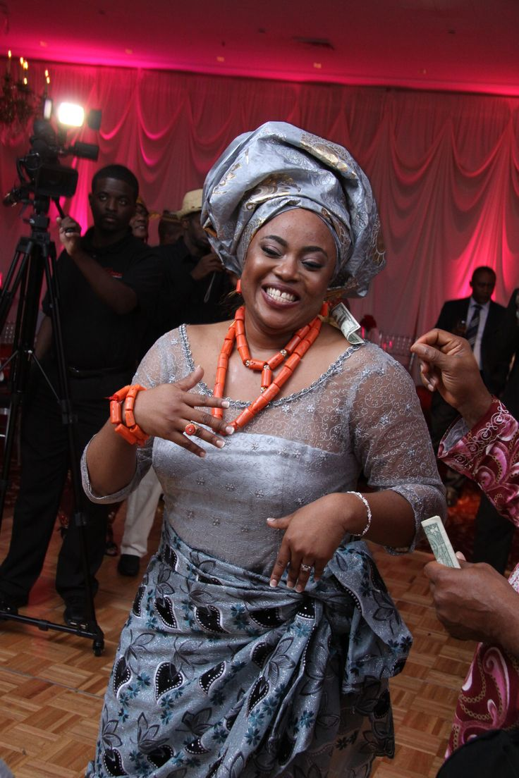 Nigerian Igbo Traditional Wedding Blouse And Wrapper My