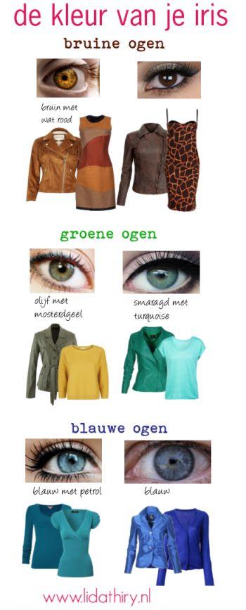 Een kleur die niet mag ontbreken in je garderobe is de kleur van je iris. Hij maakt je ogen helderder en leidt de aandacht af van de punten op je lichaam waar je minder blij mee bent. Meer weten? Lees dit interessante blog om te ontdekken welke zes kleuren voor jou werken. #persoonlijkkleurenpalet #kleurenanalyse