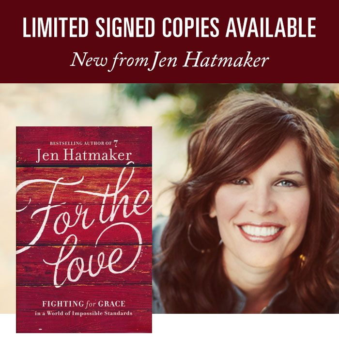 Special Merry Christmas Autographed copy from author Jen Hatmaker!
