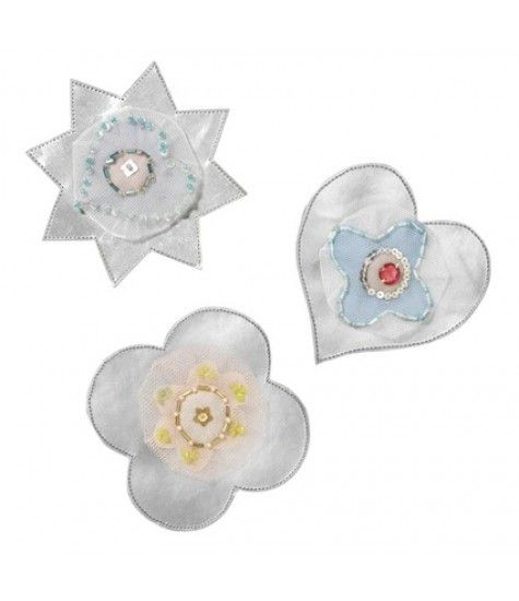 Little details matter :) Let your child's bedroom shine with the SilverSparkle Deco Flowers.