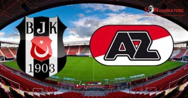 Beşiktaş-AZ Alkmaar maçı saat kaçta hangi kanalda yayınlanacak?