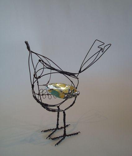 Wire Sculptures | Jill Walker