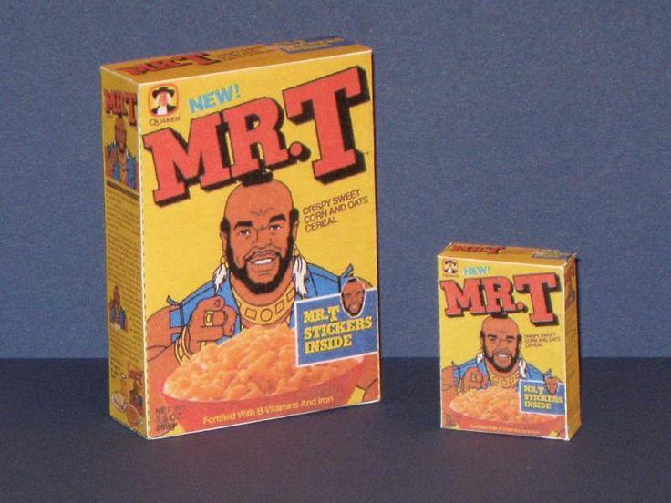 Mr. T Cereal Box Papercraft   Tektonten Papercraft