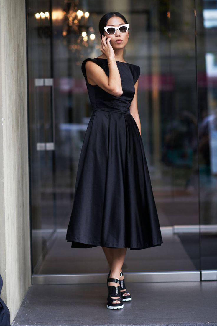 WOW! This is the classy style that women look marvelous in!!!!!! Milan designers got it going on!!! The Best Street Style from Milan - ELLE.com