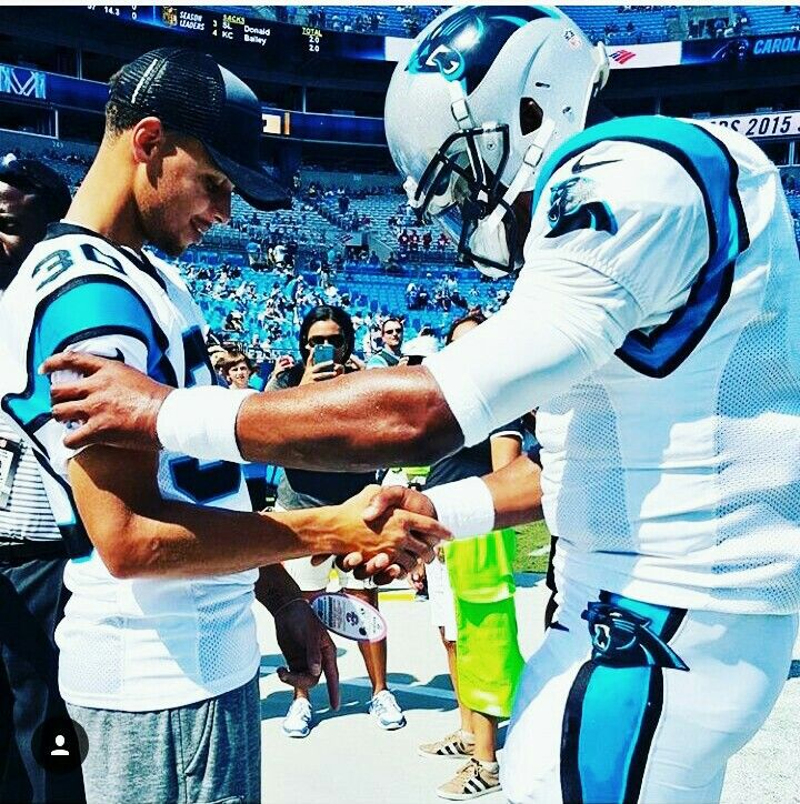 Stephen Curry and Cam Newton