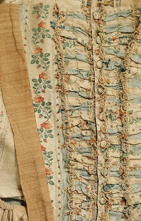 Dress (Robe à la Française)  Date: 1774–93