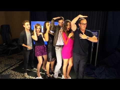 2014 2/4 Agents of S.H.I.E.L.D.-Clark Gregg, Brett Dalton and Chloe Bennet - YouTube