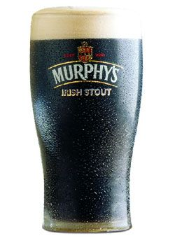 """The lightest and sweetest of Ireland's Big Three (Guinness, Beamish and Murphy's), Murphy's Irish Stout is the """"nice guy"""" of the group. But don't be deceived — that just means you can drink more of 'em. Think chocolate milk topped with a double shot of espresso and finished with a one-inch thick head of caramel-infused creamy goodness"""