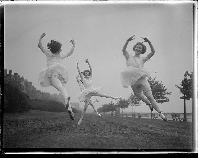 Nature dancers, via Flickr. (Boston Public Library)