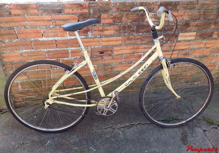 Bicicleta Caloi Ceci Aro 26 Amarela - R$ 300,00 em Mercado Livre