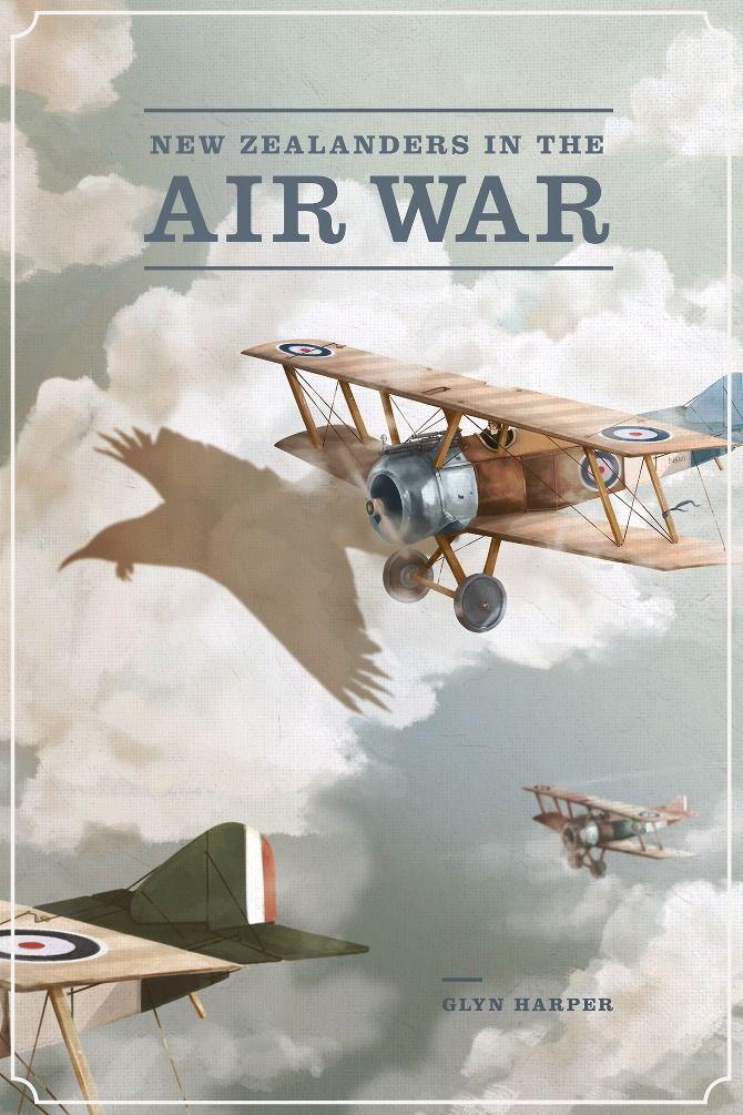 NZ pilots in WWI - Phoebe Morris Illustration