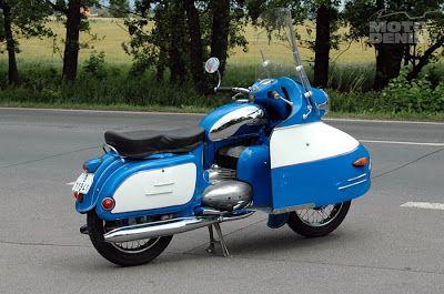 """Jawa 350 type 354 """"NanuK"""""""