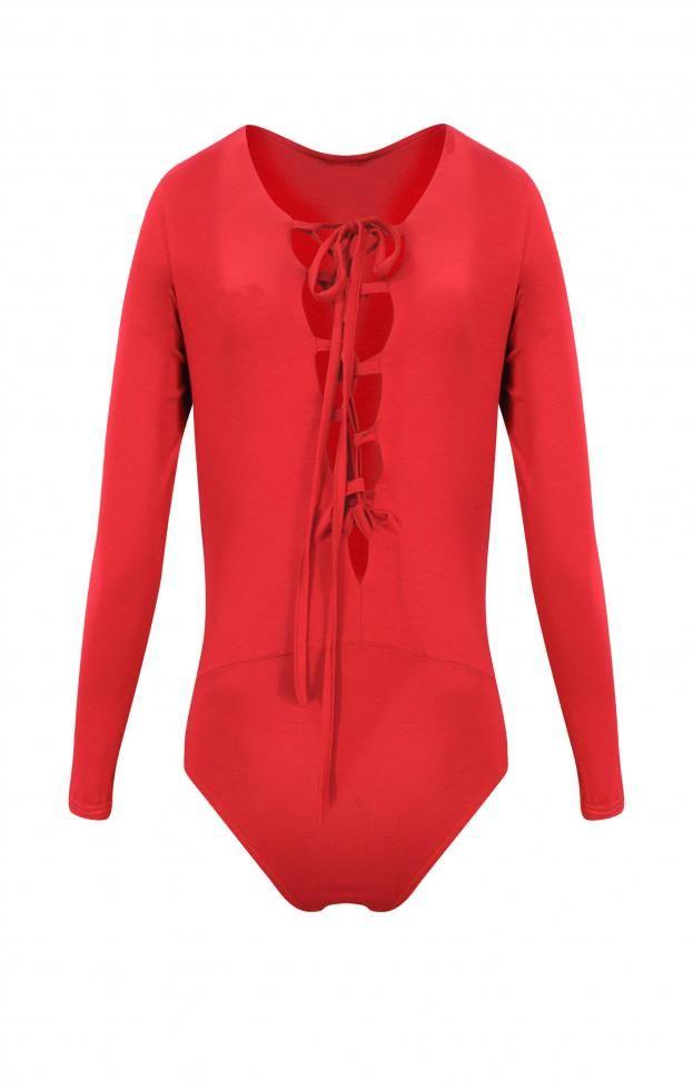 Γυναικείο κορμάκι με βαθύ βε  KORM-0160 Κορμάκια - Μπλούζες και πουκάμισα