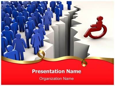 Check out our professionally designed Disability Discrimination #PPT #template. Get PowerPoint presentation with our Disability Discrimination editable ppt template. This royalty free Disability Discrimination #Powerpoint template lets you edit text and values and is being used very aptly for Disability Discrimination, cooperation, disability, #disabled, #discriminate, #discrimination, #human #resources, individuality, #physical #impairment and such #PowerPoint #presentations.