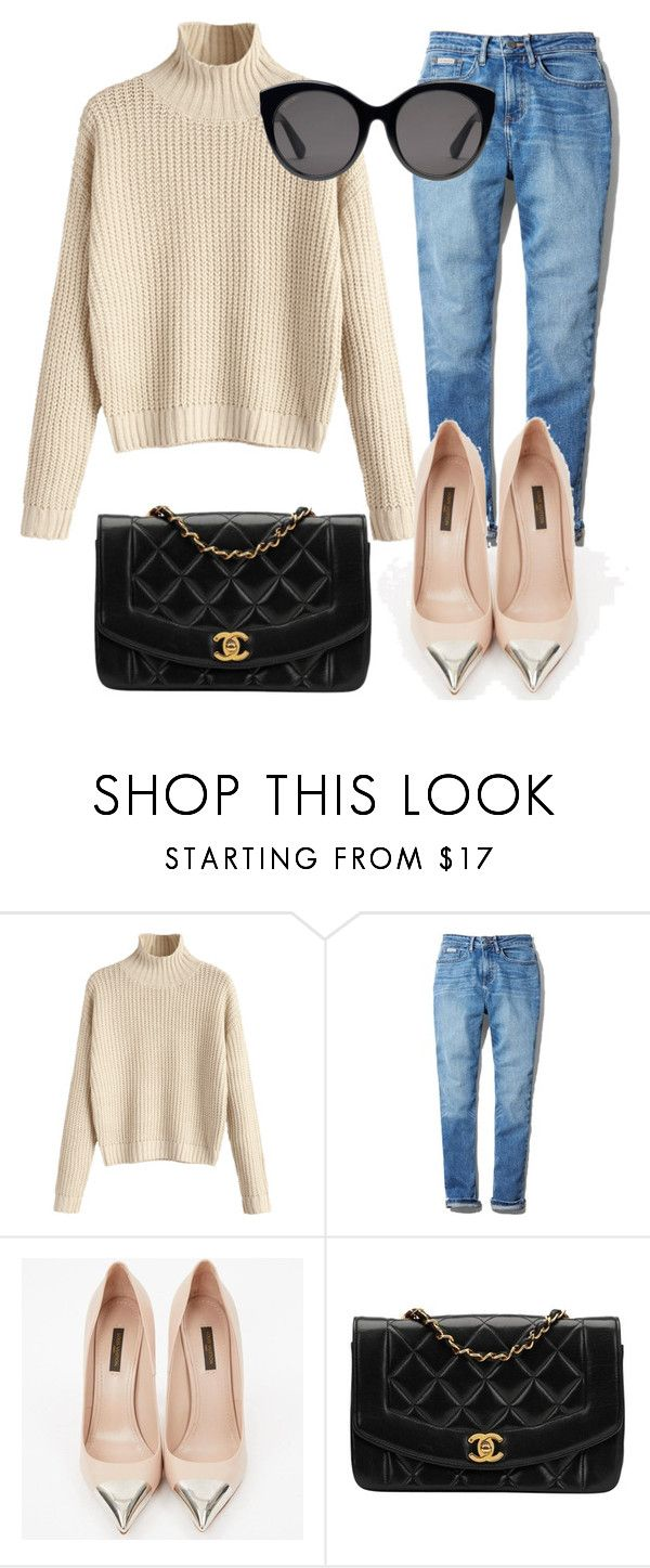 """""""fall outfit"""" by valeria-arcos on Polyvore featuring Calvin Klein, Louis Vuitton, Chanel and Gucci"""