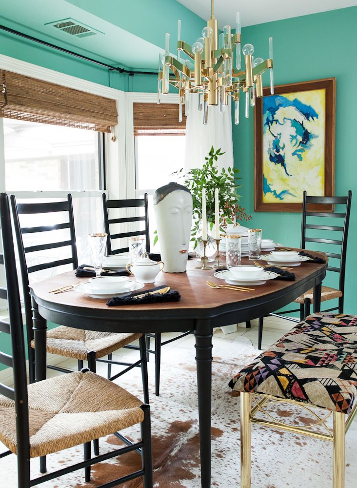 eclectic dining room photo by erin williamson design
