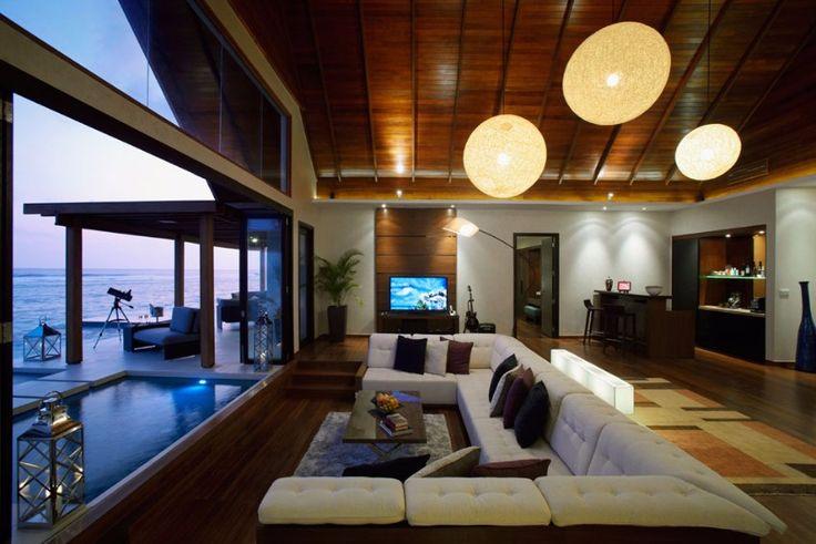 Holiday in Maldives! /maldives,modern, hotel design/ #hospitality #interiordesign #decor / More: http://www.designcontract.eu/hospitality/choose-destination-best-honeymoon-hotels-maldives/