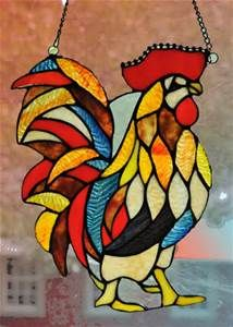 Stained Glass Rooster - Bing Images