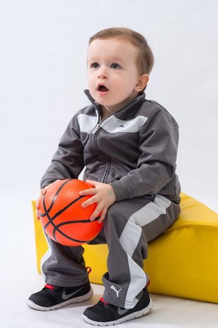 Toddler basketball track suit puma