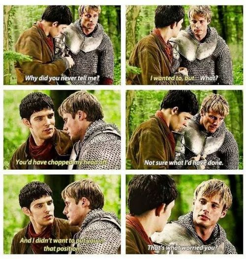 Aaahhhh they needed another season! At least one more where Arthur ruled with Merlin by his side as a sorcerer