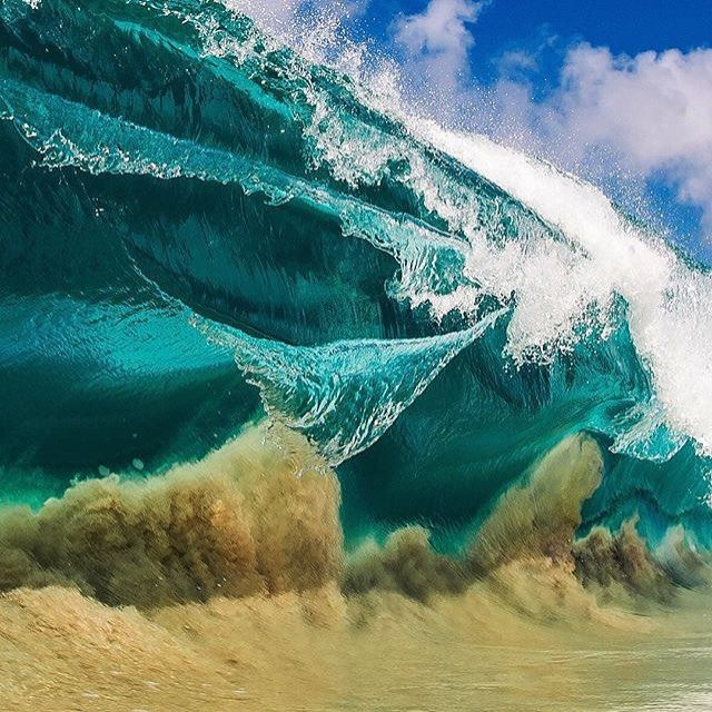 wave after wave, wave after wave #drifitingaway photo by @clarklittle #sweetlife #aloha