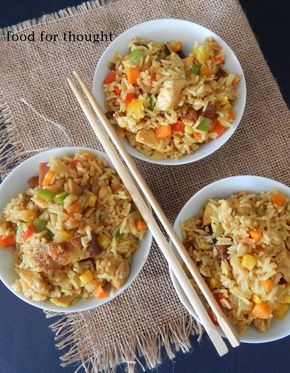 Food for thought: Κινέζικο τηγανητό ρύζι