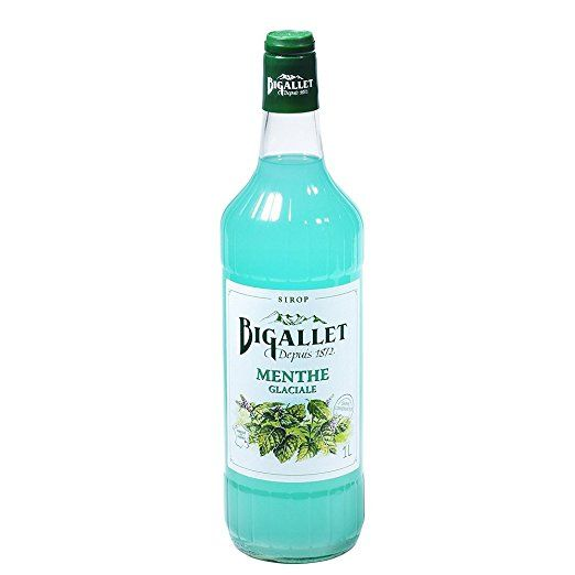 I love the flip-top lid    Bigallet Syrup - Produced at the Foot of the French Alps - Naturally Organic, Non-GMO, Vegan Friendly, No Preservatives - A Full 1 Liter Bottle (Icy Mint - Menthe glacée)