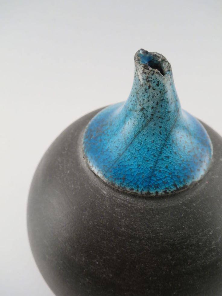 Tip of the Iceberg (Detail): Whispering Globe - Ildikó Károlyi #ceramics #raku #design